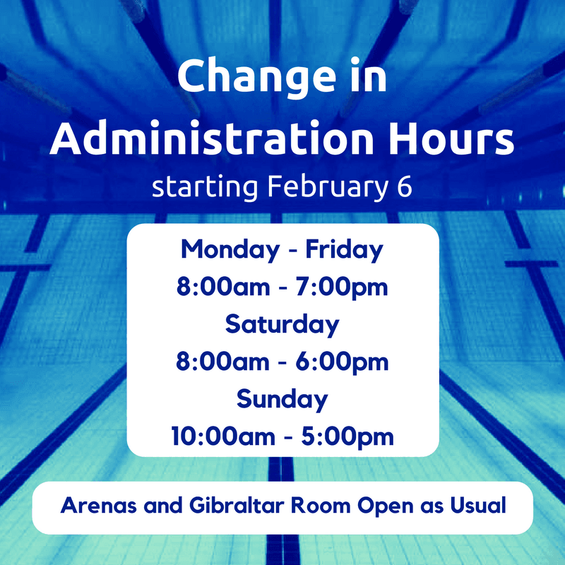 Change in Administration Hours