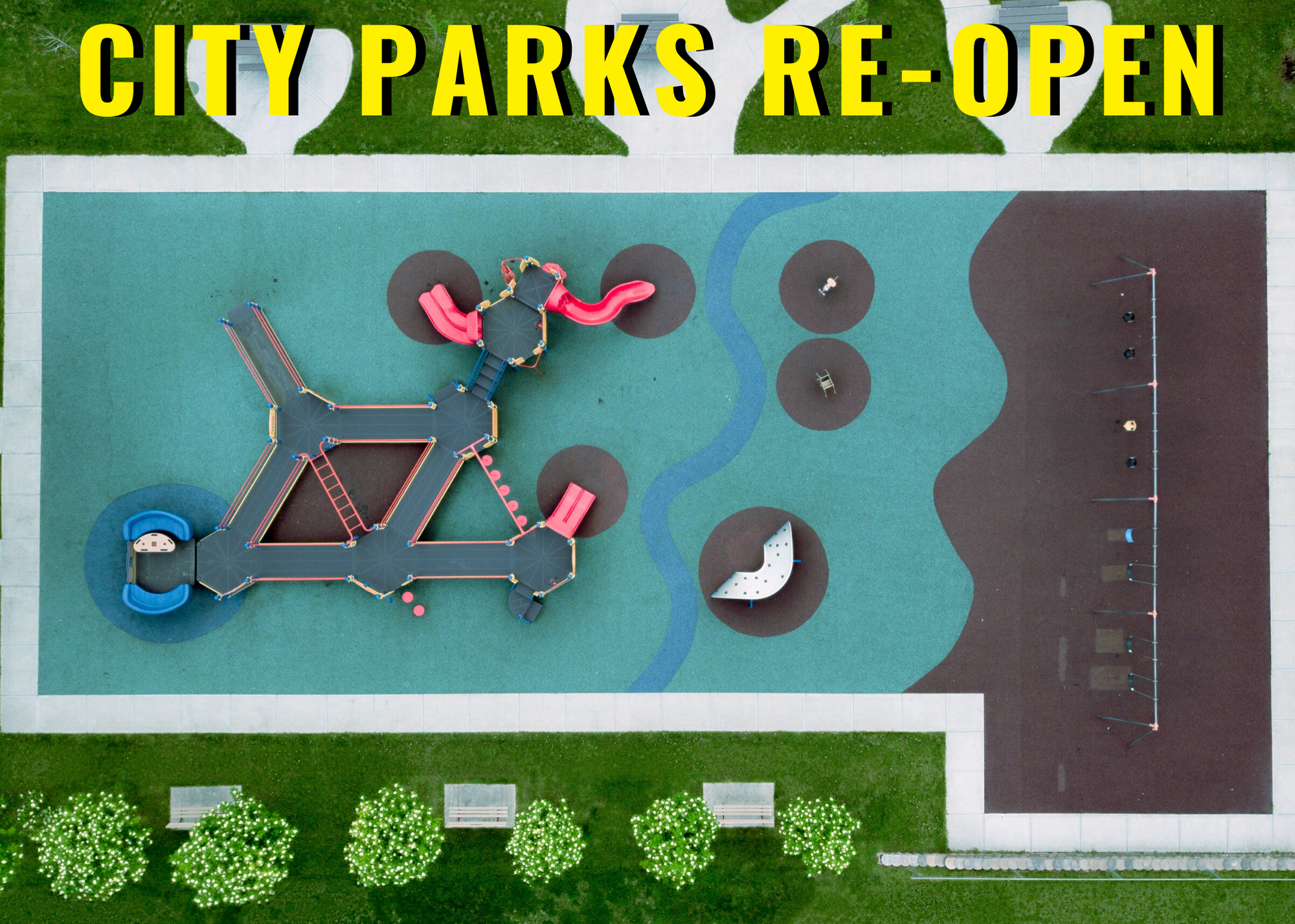 City parks re-open