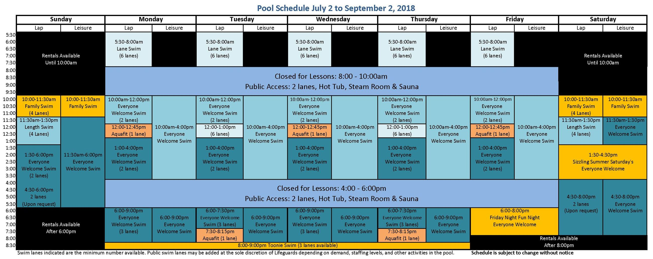 2018 Summer Pool Schedule__FINAL