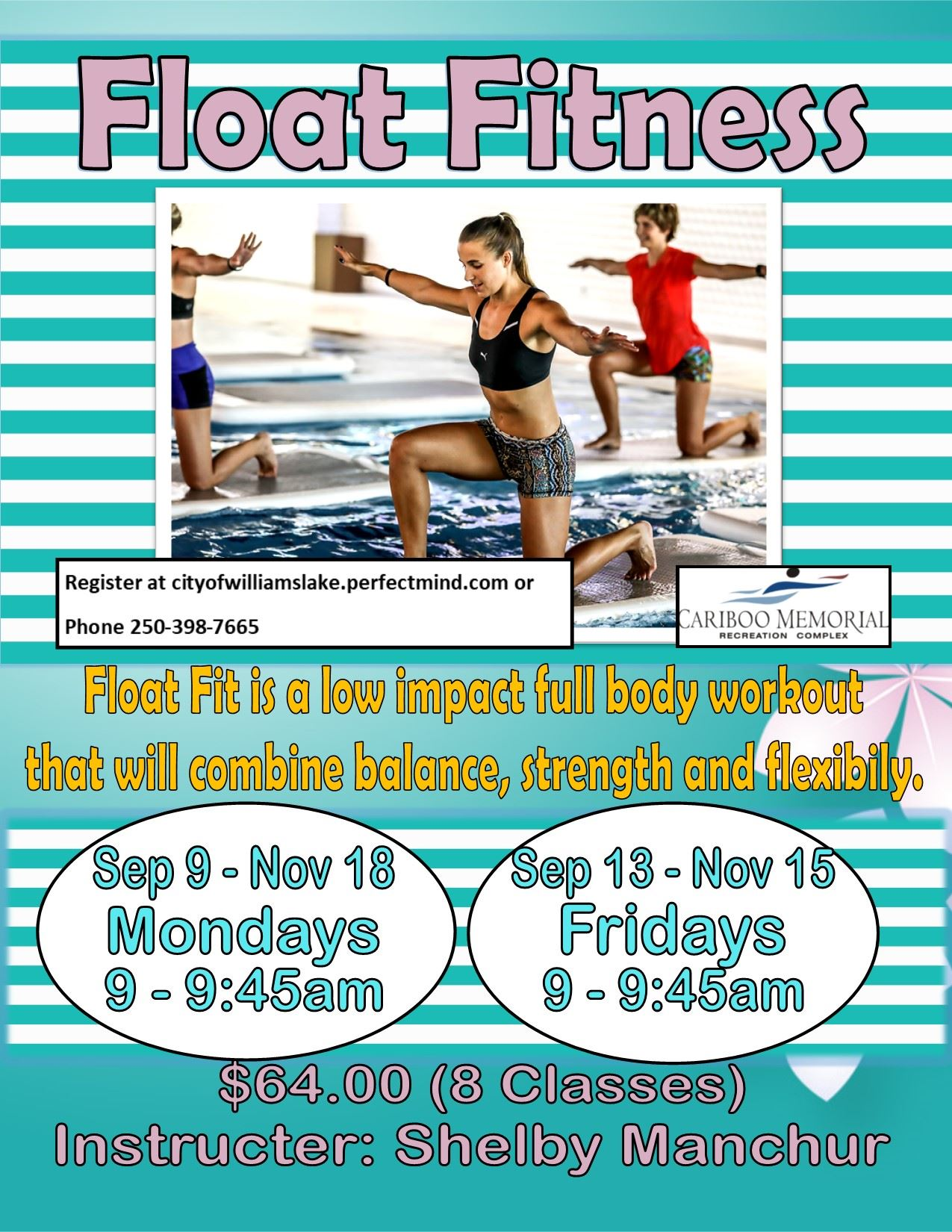 Float Fitness Sep 9, 13