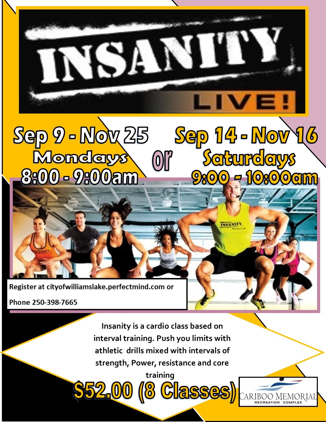 Insanity Live sep