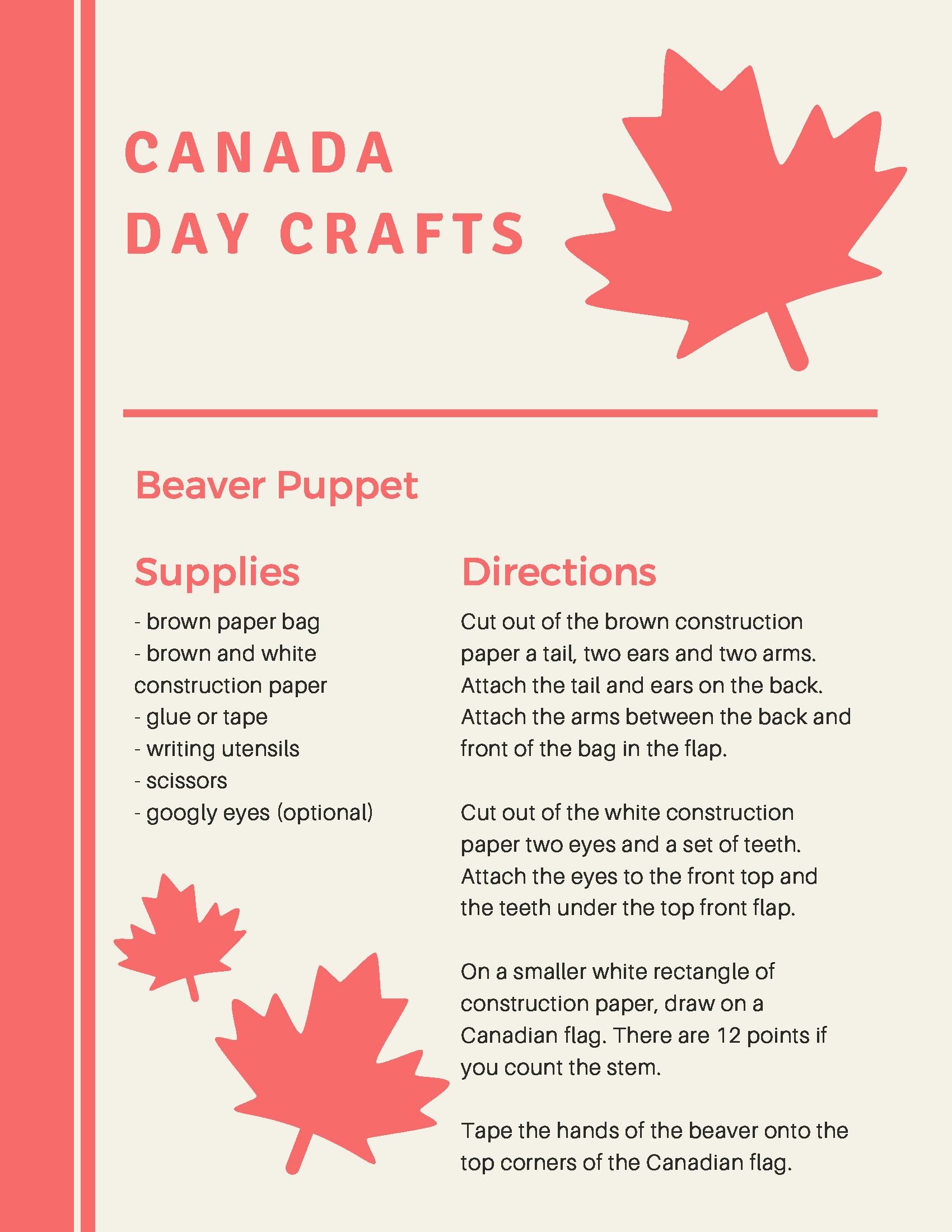 Canada Day Crafts 2020 (2)