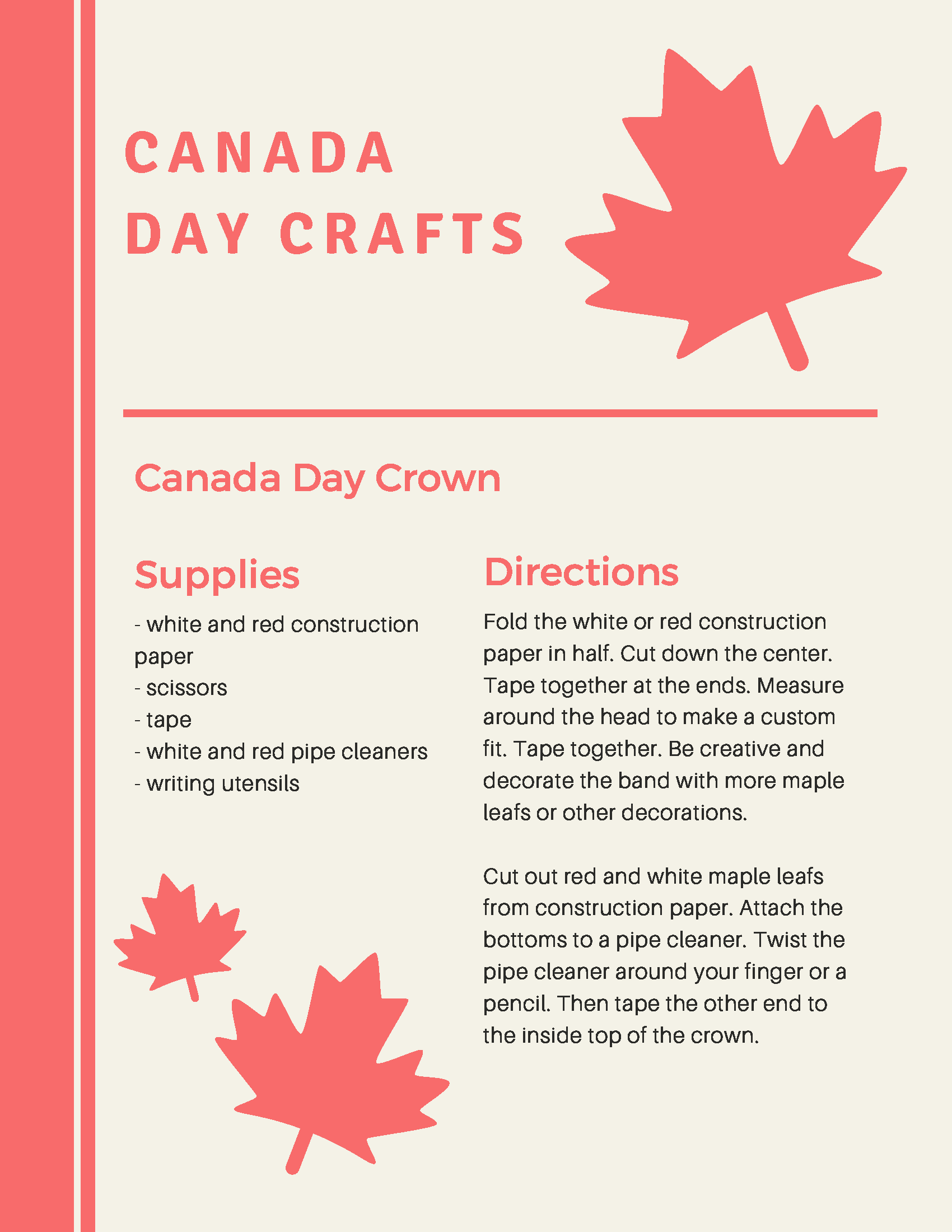Canada Day Crafts 2020 (2) 2